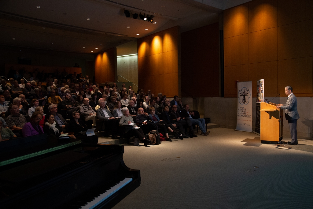 Tetsuro Matsuzawa (Kyoto University) speaking on Comparative Cognition in Primates