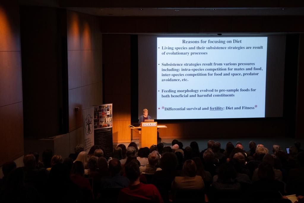 Margaret Schoeninger (UC San Diego) speaking on Nutrition & Paleodiet