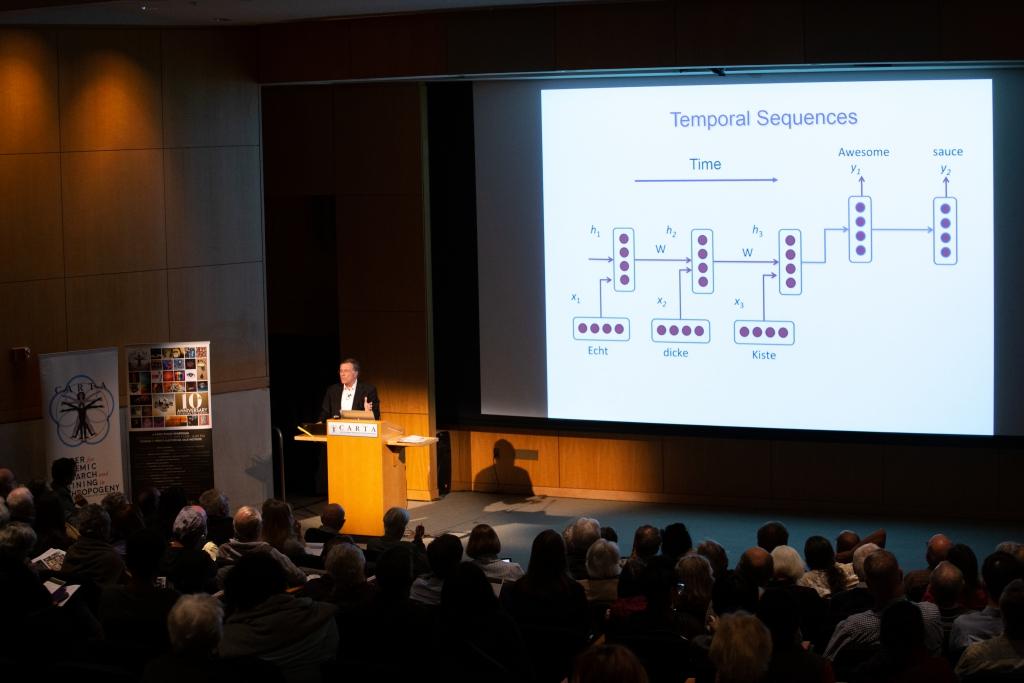 Terry Sejnowski (Salk Institute) speaking on Computational Neuroscience